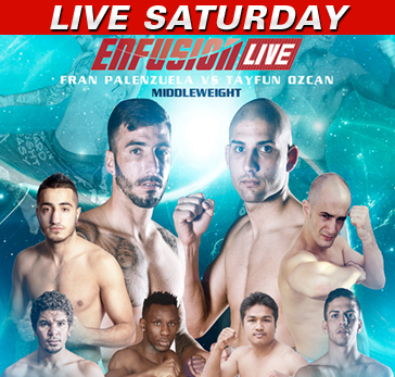 Enfusion LIVE 31 Saturday at 4 p.m. ET on Fight Network (Canada/USA)