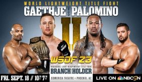 Video Highlights & Results – WSOF 23: Gaethje Beats Palomino in Another Thriller