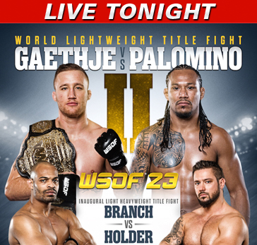 WSOF 23 LIVE Friday at 10 p.m. ET on Fight Network (Canada/International)