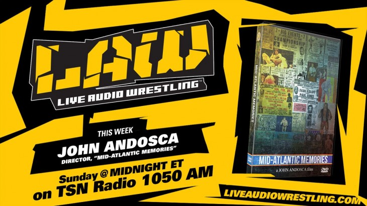 Sep. 27 Edition of The LAW feat. John Andosca, Dave Meltzer, Brian Mann