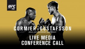 Listen LIVE Friday at 2 p.m. ET – UFC 192 Media Conference Call