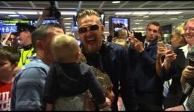 Video – Conor McGregor's Big Homecoming in Dublin
