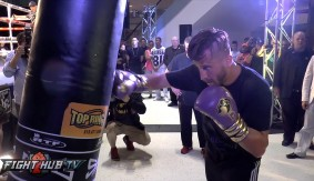 Video – David Lemieux Full Media Workout