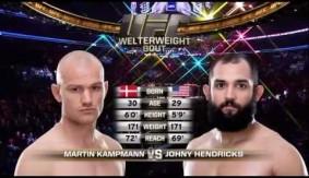 Video – UFC 192 Free Fight: Johny Hendricks vs. Martin Kampmann