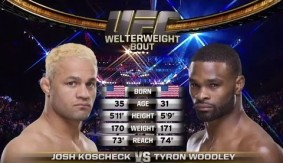 Video – UFC 192 Free Fight: Tyron Woodley vs. Josh Koscheck