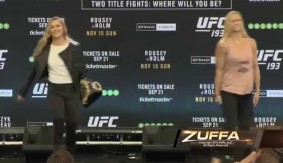 Video – UFC 193: On Sale Press Conference Staredowns