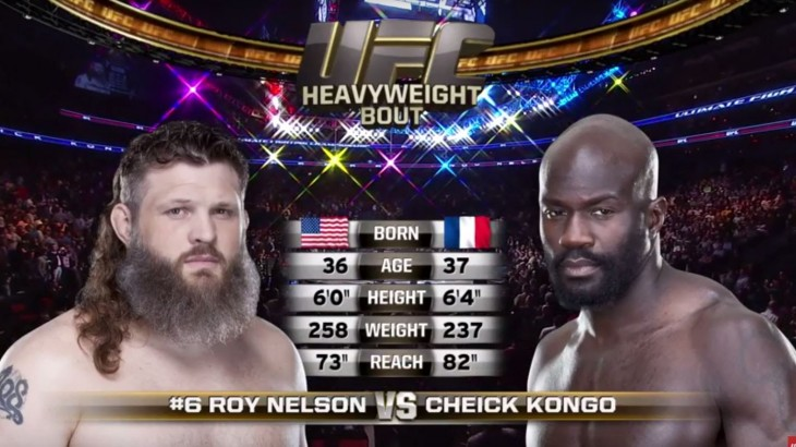 Video – UFC Fight Night Japan Free Fight: Roy Nelson vs. Cheick Kongo