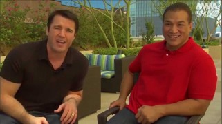 Video – WSOF 23: Chael Sonnen, Ray Sefo Preview Tonight's Event