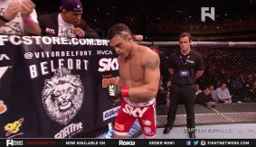 Vitor Belfort's Testosterone Levels High at UFC 152 on Newsmakers