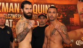 PBC on NBCSN: O'Connor vs. Bracero Weigh-in Results & Photos