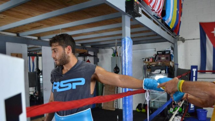 Training Camp Photos, Q&A with Ahmed Elbiale Ahead of Oct. 13 Clash vs. Ferenc Albert