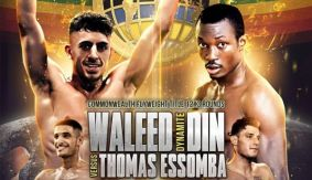 Waleed Din vs. Thomas Essombo Commonwealth Title Bout to Air on Spike TV in U.K.