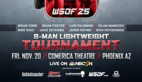 Field Set for WSOF 25 Lightweight Tournament Live on Fight Network