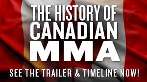 CMF History Canadian MMA