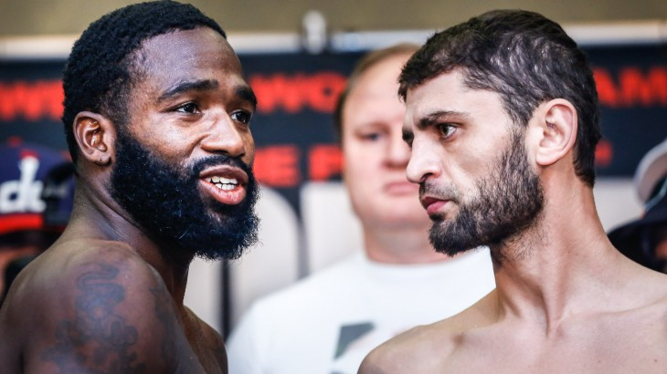 Broner vs. Allakhverdiev Weigh-in Results & Photos