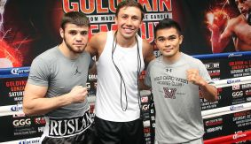 Golovkin, Viloria, Madiyev Los Angeles Media Workout Quotes & Photos