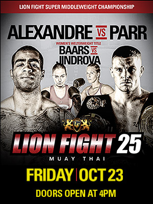 Video Highlights & Results – Lion Fight 25: Cosmo Alexandre Beats John Wayne Parr