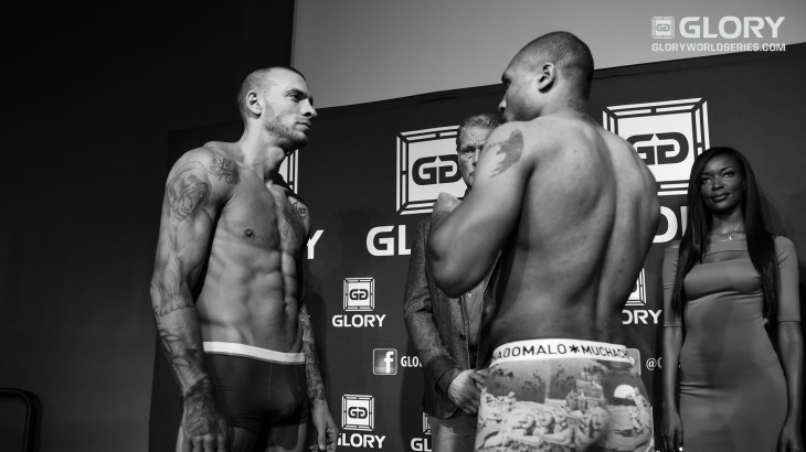 GLORY 24 Denver & Superfight Series Weigh-in Results & Photos