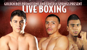 Joseph Diaz Jr. vs. Ruben Tamayo Set for Oct. 23, to Air on Fight Network
