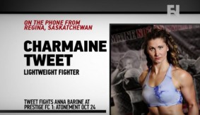 Prestige FC 1: Charmaine Tweet on Upcoming Bout, Rousey vs. Cyborg and More