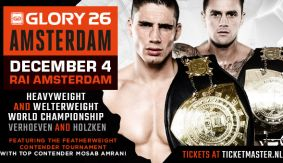 GLORY Announces Year-End Show in Amsterdam on Dec. 4