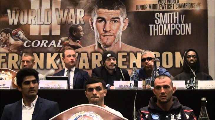 Video – John Thompson vs. Liam Smith Full Press Conference