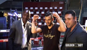 Video – The Guns Are Loaded: David Lemieux Prepares for Golovkin