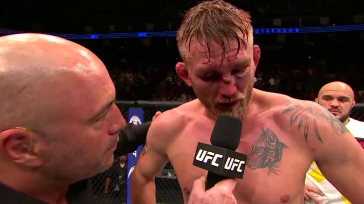 Video – UFC 192: Alexander Gustafsson Octagon Interview