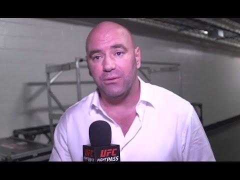 Video – UFC 192: Dana White Backstage Interview