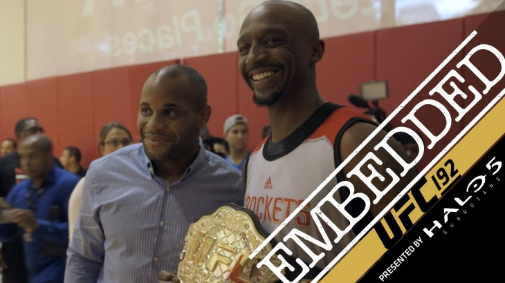Video – UFC 192 Embedded: Vlog Episode 4