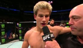 Video – UFC 192: Sage Northcutt Octagon Interview
