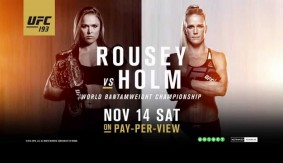 Video – UFC 193: Once in History Promo