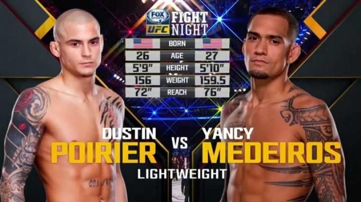 Video – UFC Fight Night Dublin Free Fight: Dustin Poirier vs. Yancy Medeiros