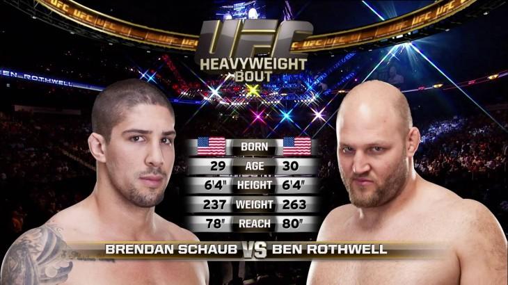 Video – UFC Fight Night Dublin Free Fight: Ben Rothwell vs. Brendan Schaub