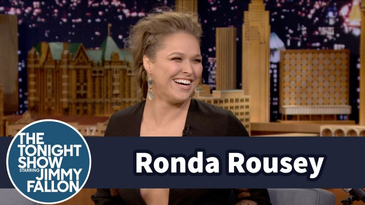Videos – Ronda Rousey Talks Mayweather, Holm on 'The Jimmy Fallon Show'