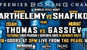 Isiah Thomas vs. Murat Gassiev Co-Main Event of PBC on Spike Dec. 18 in Las Vegas
