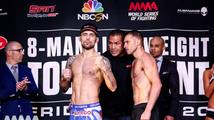 WSOF 25 LIVE on Fight Network Weigh-in Results & Video
