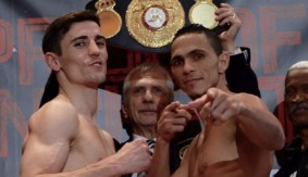 Darleys Perez Weighs In at 134 for WBA Lightweight Title Bout vs. Anthony Crolla