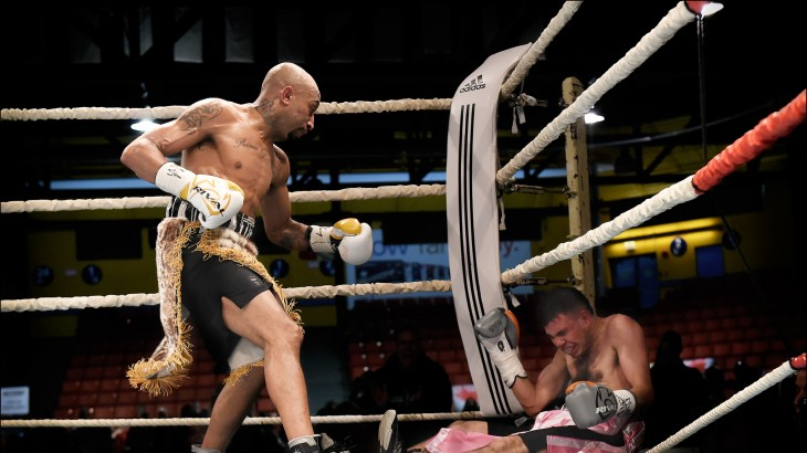 Tyson Cave Stops Walter Rojas; Claims WBU Super Bantamweight Crown