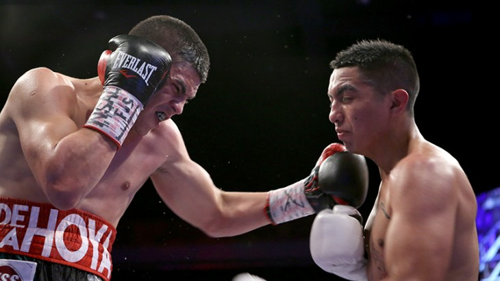Diego De La Hoya Shines in Grand Return to Las Vegas
