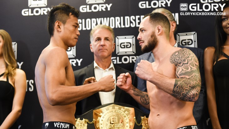 GLORY 25 Milan & SuperFight Series Weigh-in Results & Photos