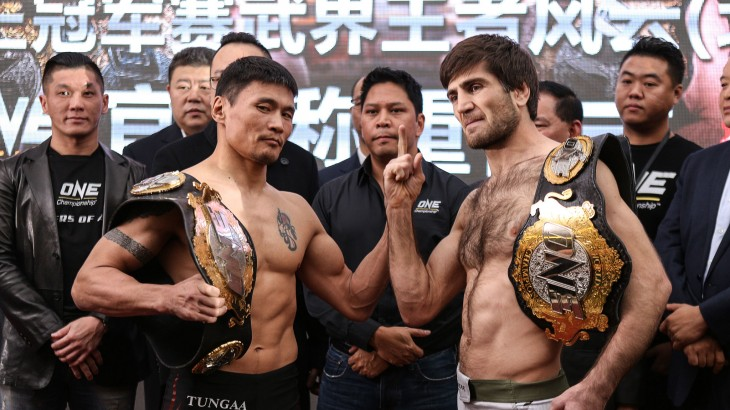 ONE: Dynasty of Champions LIVE on Fight Network Weigh-in Results & Photos from China