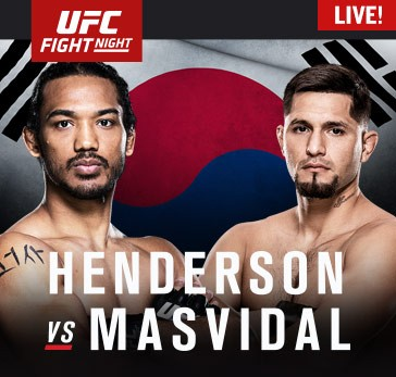 UFC Fight Night Seoul Main Card LIVE Saturday at 8 a.m. ET on Fight Network