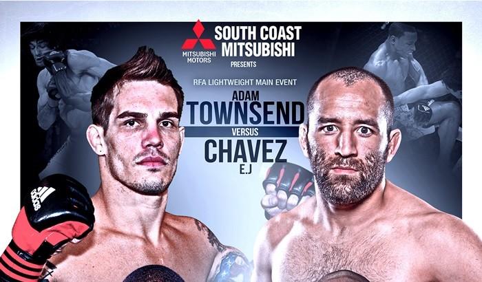 Ernest Chavez vs. Adam Townsend Tops RFA 33 LIVE Dec. 11 on Fight Network