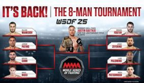 WSOF 25 LIVE, Golden Boy: De La Hoya vs. Delgado Friday on Fight Network