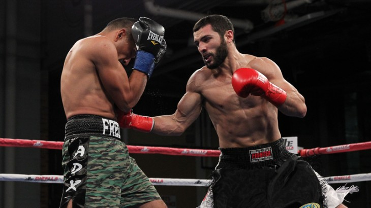 Full Report & Photos – Broadway Boxing: Galeano Dominates Cameron; Claims N.Y. Middleweight Title