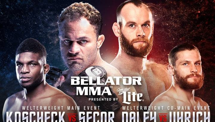 Koscheck, Daley Get Separate Opponents at Bellator 148 on Jan. 29