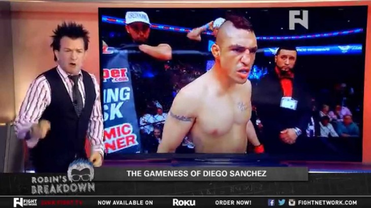 Robin's Breakdown: Diego Sanchez – Gameness and The Vagus Nerve
