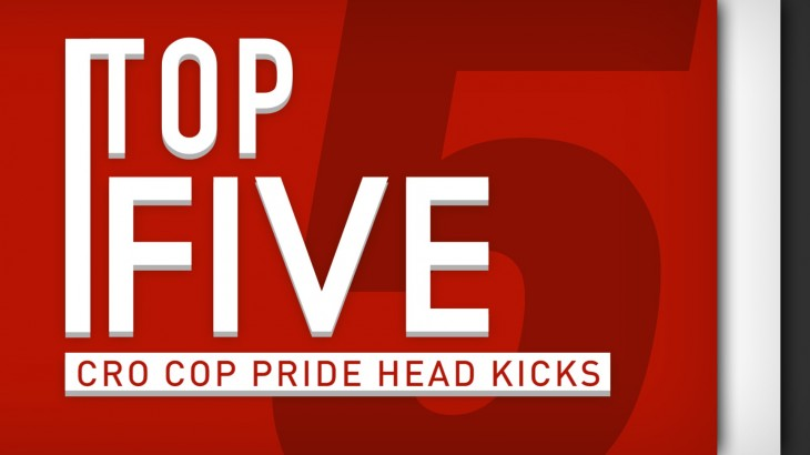 Top 5 – Pride FC: Mirko Cro Cop Head Kicks