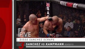UFC Fight Night Monterrey: Diego Sanchez Top 5 Scraps